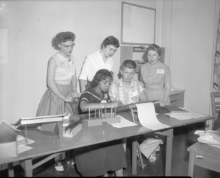 The High School Journalism Institute. July 2, 1958. Provided By Indiana University Office of University Archives and Records Management. P0027099