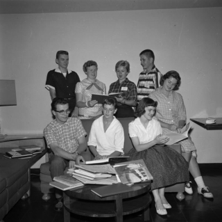 The High School Journalism Institute. July 30, 1958. Provided By Indiana University Office of University Archives and Records Management. P0053136