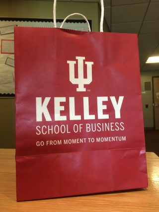 One of the gift bags Tess Plazek and I received from the marketing team.